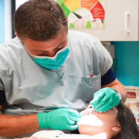 Patient Teeth Treatment